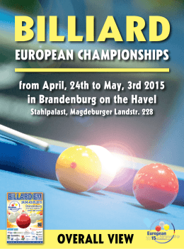 EuropEan Championships - Touch