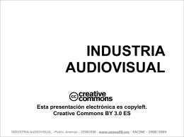 INDUSTRIA AUDIOVISUAL