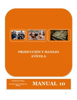 manual para la crianza de huevos y gallinas