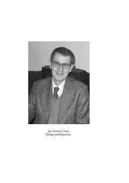 2. José Antonio Correa, filólogo paleohispanista, por Javier de Hoz
