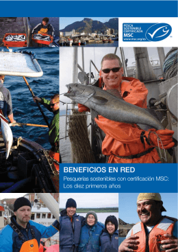Beneficios en Red 2009. - Marine Stewardship Council