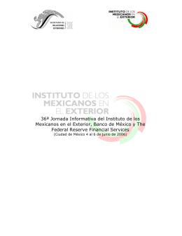 36ª Jornada Informativa del Instituto de los Mexicanos en el