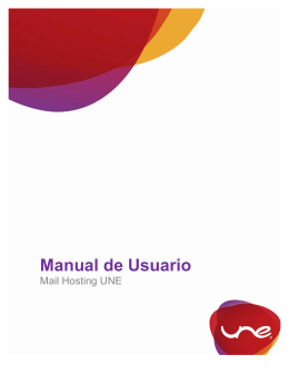 Manual de usuario mail hosting