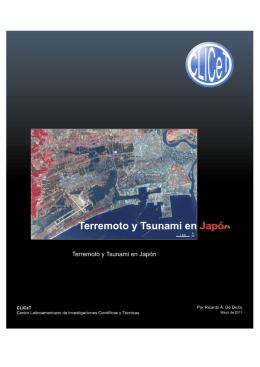 Terremoto y Tsunami en Japón - Centro Latinoamericano de