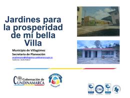 Modelo de experiencia exitosa municipio Villagómez.