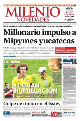 Millonario impulso a Mipymes yucatecas
