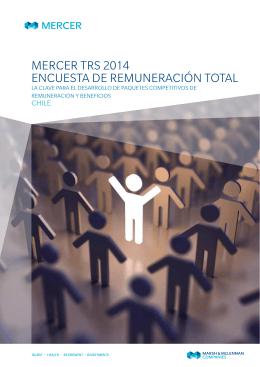 mercer trs 2014 encuesta de remuneración total