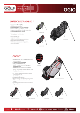 SHREDDER STAND BAG * OZONE *