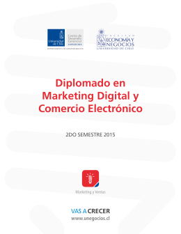Diplomado en Marketing Digital y Comercio Electrónico