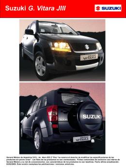 Suzuki G. Vitara JIII