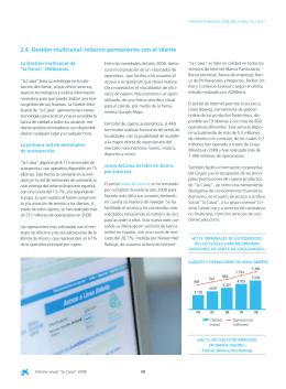 "Informe Anual ""la Caixa"" 2008 CASTELLANO"