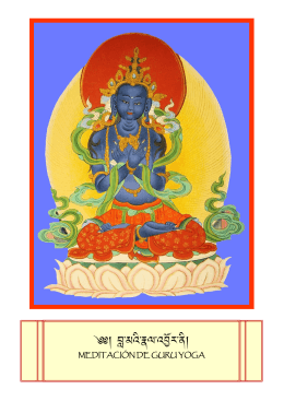 Meditación de Guru Yoga