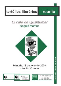 portada mahfuz - Ajuntament de L`Hospitalet