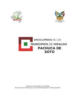 PACHUCA DE SOTO - siieh - Gobierno del Estado de Hidalgo