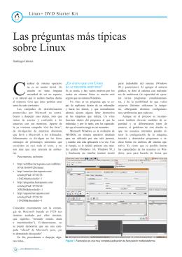 Las préguntas más típicas sobre Linux