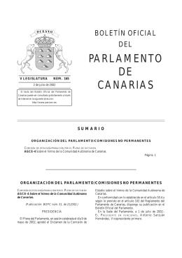 165/2002 - Parlamento de Canarias