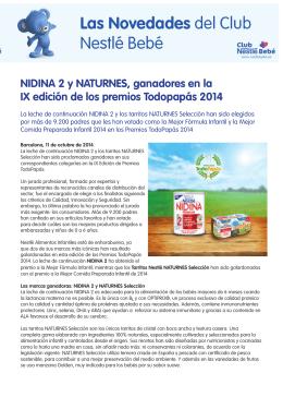 NIDINA 2 y NAturNes, ganadores en la IX edición de los premios