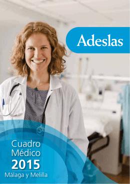 Cuadro Médico Privado Málaga-Melilla2015
