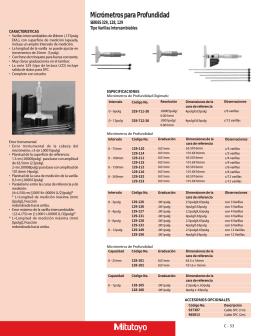 Micrometros de Profundidad
