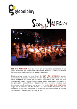 Dossier SON DEL MALECÓN