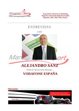 ALEJANDRO SANZ - ManagingSport