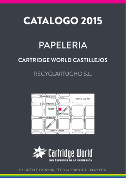 Descargar - Cartridge World Barcelona Castillejos