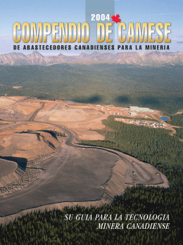 su guia para la tecnologia minera canadiense 2004