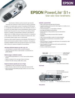 EPSON PowerLite® S1+