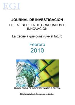 Febrero - Campus Puebla - Tecnológico de Monterrey
