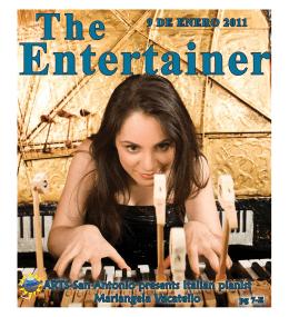 The 9 DE ENERO 2011 ARTS San Antonio presents Italian pianist