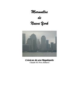 Murmullos de Nueva York