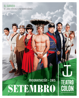 SETEMBRO - Teatro Colón