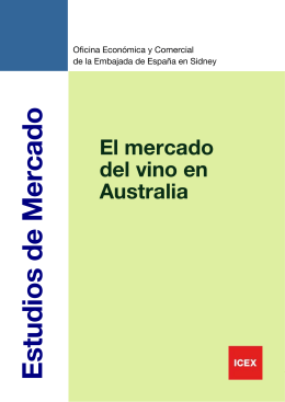 2011 Vino en Australia