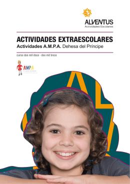 actividades extraescolares - AMPA colegio Dehesa del principe.