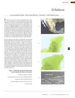 El Relieve. Formato PDF