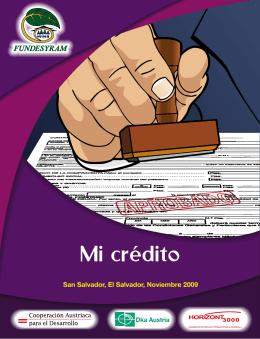 Mi crédito - fundesyram