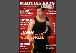 martial arts research magazine -enero-febrero 2012