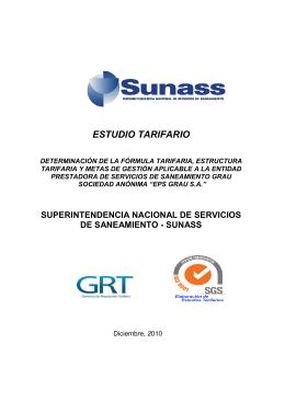 Estudio Tarifario GRAU 06.01.11