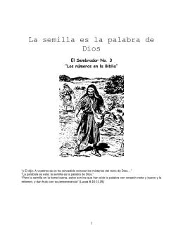 Numerología Bíblica - Ministerios Llamada Final