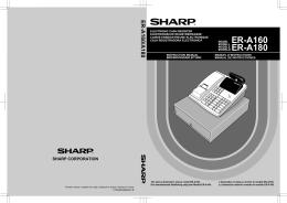ER-A160/A180 Operation-Manual GB DE FR ES