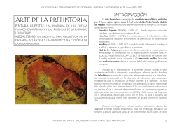 Arte de la Prehistoria - IES JORGE JUAN / San Fernando