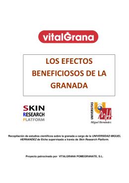 LOS EFECTOS BENEFICIOSOS DE LA GRANADA
