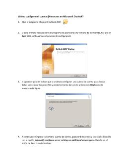 ¿Cómo configuro mi cuenta @itesm.mx en Microsoft Outlook?