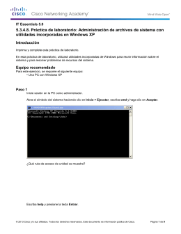 5.3.4.8. Práctica de laboratorio - Aula Virtual