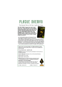 PLAGUE DAEMON - The Black Library