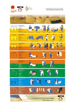 Programa Judo Infantil - Federación Española de Judo