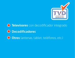 Televisores con decodificador integrado Decodificadores