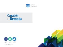 conexion remota - Folios Digitales