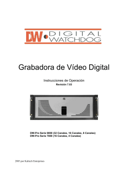 Grabadora de Vídeo Digital