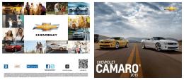 Catalogo Camaro 2013